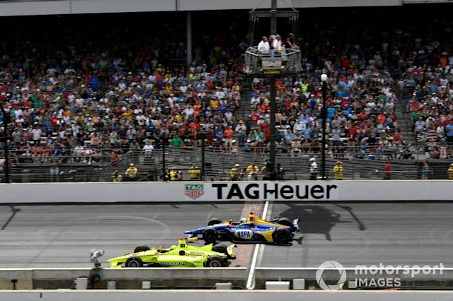 "At 225-plus mph, most IndyCar drivers wouldn't want to be on anything other than Firestone. <span class=""copyright"">Scott R LePage / Motorsport Images</span>"
