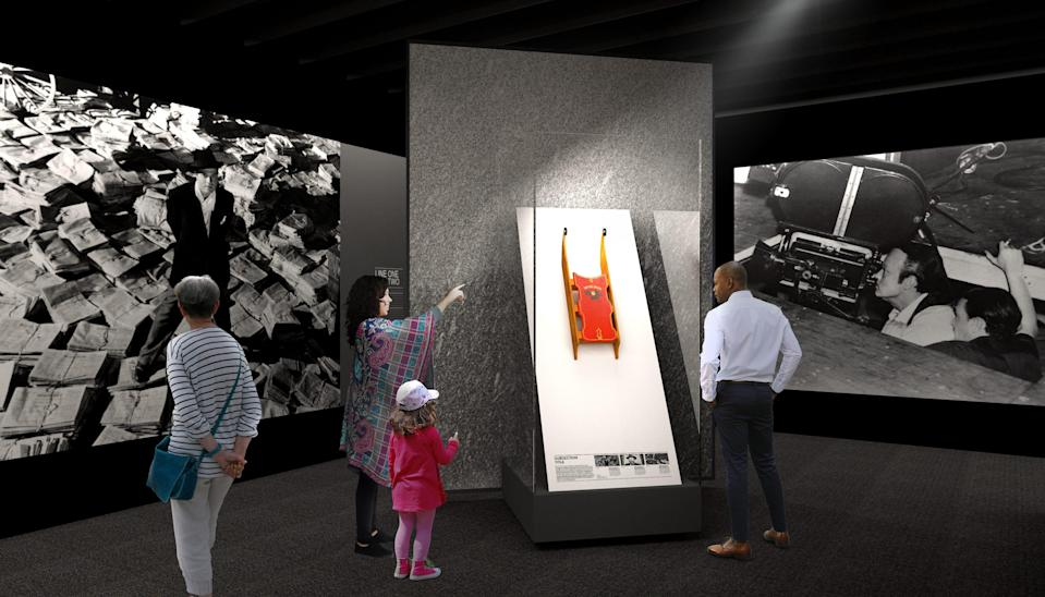 """The Rosebud sled from """"Citizen Kane"""" will be on display at the Academy Museum."""