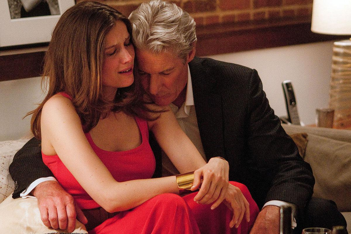 Richard Gere was 63 and Laetitia Casta was 34 in 'Arbitrage' Age gap: 29 years