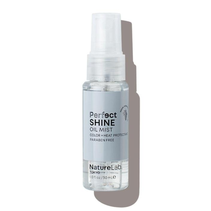 """<p>I went blonde last summer, and while the bleach has mostly grown out, my hair's shine never really came back. I was hoping for some magic from this serum and its buzzy ingredient list (grape stem cells, hyaluronic acid). I spritz the silicone-and-oil formula on my hands and work it into my hair from the ends up, stopping halfway to my roots. Mirror-like shine achieved! </p> <p>— Rosemary Donahue, digital wellness editor</p> <p><a href=""""https://subscriptions.allure.com/pubs/N3/ALL/ALB_Login.jsp?cds_page_id=248731&cds_mag_code=ALL&id=1620654811310&lsid=11300853313057612&vid=1"""" rel=""""nofollow noopener"""" target=""""_blank"""" data-ylk=""""slk:+Get it here+"""" class=""""link rapid-noclick-resp""""><strong>+Get it here+</strong></a></p>"""
