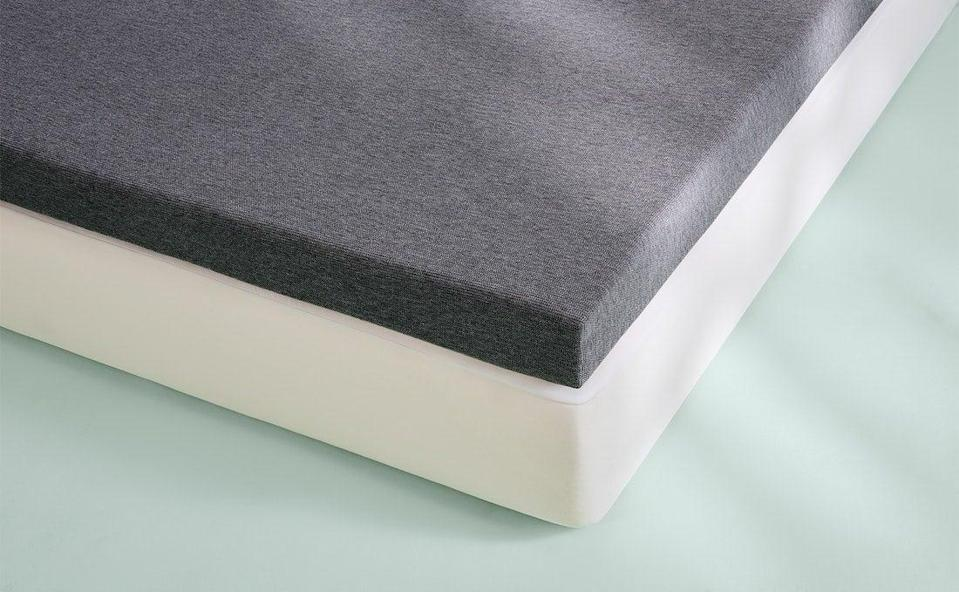 """<h2>Casper Mattress Topper</h2><br><strong>Best For: Reducing Restlessness</strong> <br>This topper is designed to easily fit onto your bed with no slipping and sliding. Crafted with Premium latex foams and a plush top layer, it creates a soft, buoyant feel that keeps you cool, and keeps you still. <br><br><strong>The Hype: 4.7 out of 5</strong><br><br><strong>Sleepers Say:</strong> """"I can't believe I thought I didn't need a mattress topper before. What a painful life I was living. As a person who tosses and turns all through the night, I found myself sinking into the luscious layers and waking up in the same comfortable spot I fell asleep in the night before. My back feels supported, and my body slowly finds its perfect spot beneath the sheets."""" <em>–</em> <em>Cortne Bonilla, Lifestyle Writer, Casper Reviewer</em><br><br><em>Shop </em><strong><em><a href=""""https://casper.com/layer/"""" rel=""""nofollow noopener"""" target=""""_blank"""" data-ylk=""""slk:Casper"""" class=""""link rapid-noclick-resp"""">Casper</a></em></strong><br><br><br><strong>Casper</strong> The Layer, $, available at <a href=""""https://go.skimresources.com/?id=30283X879131&url=https%3A%2F%2Fcasper.com%2Flayer%2F"""" rel=""""nofollow noopener"""" target=""""_blank"""" data-ylk=""""slk:Casper"""" class=""""link rapid-noclick-resp"""">Casper</a>"""