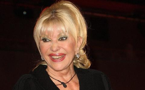 Ivana Trump after appearing in Celebrity Big Brother in 2010 - Credit: Getty Images