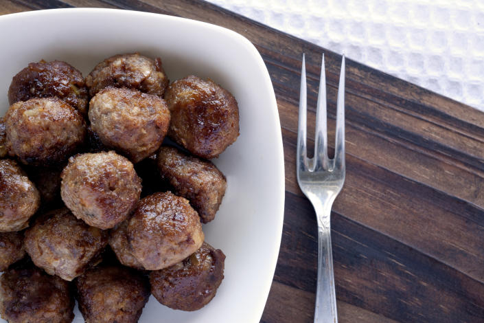 IKEA has released the recipe for its famous meatballs. (Getty Images)