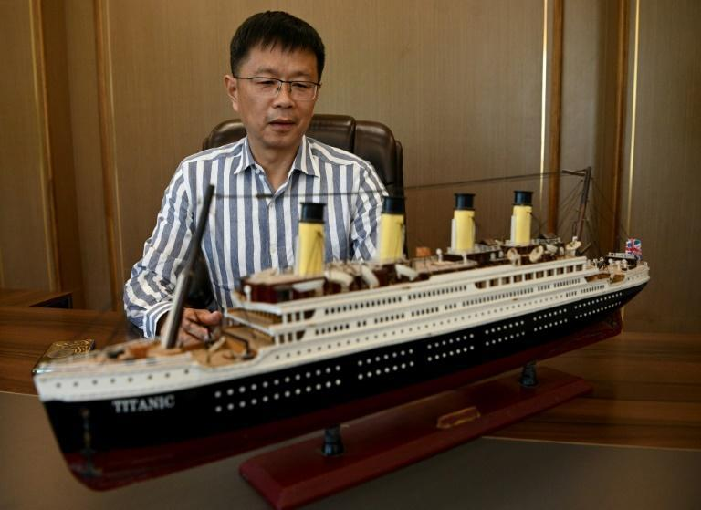 The project's main backer was inspired to recreate the world's most infamous cruise liner by the 1997 Hollywood movie