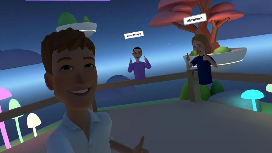 Facebook actually made something good. It's called Horizon and it's only in VR.