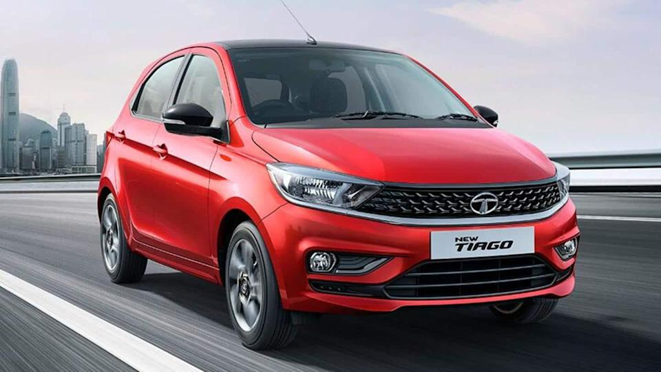 Tata Tiago CNG variant found testing, launch imminent