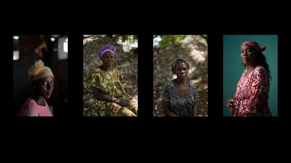 Pandemic Africa-Gambia-The Women (Copyright 2021 The Associated Press. All rights reserved.)