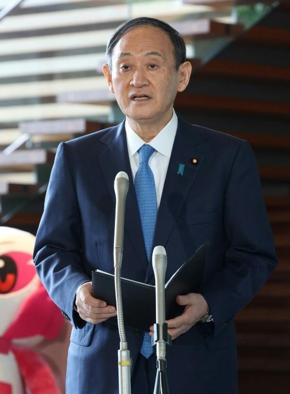 Japanese Prime Minister Yoshihide Suga said the latest North Korean launches threatened peace and security