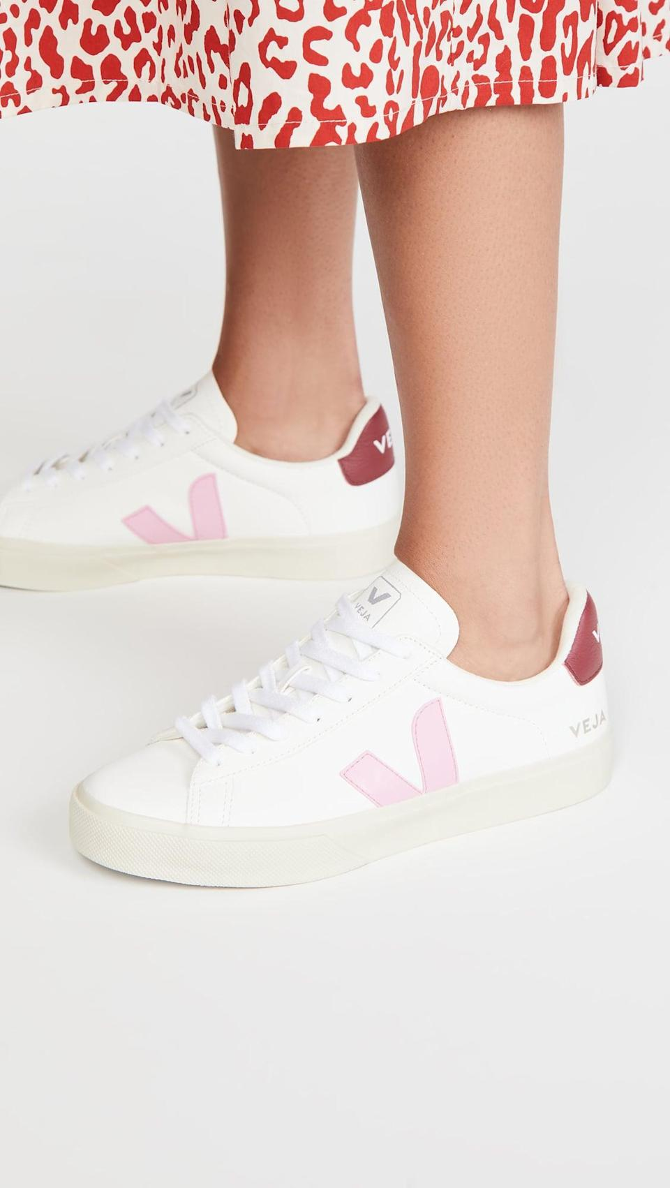 <p>C'mon, you know you want these <span>Veja Campo Chrome Free Sneakers</span> ($145, plus use code FALL20).</p>