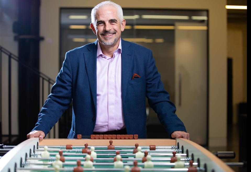 Alan Pace managing partner of ALK Capital and Burnley's new chairman.