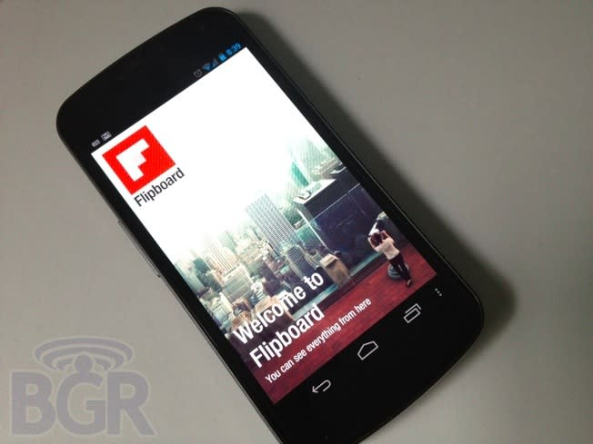 Flipboard for Android now available for download
