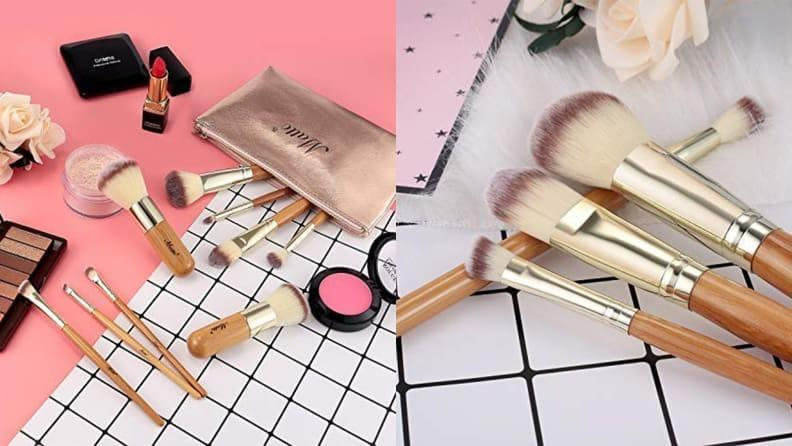 This handy set of travel brushes ensures you never have to compromise your beauty routine on your trip.