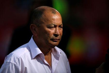 FILE PHOTO: Rugby Union - First Test International - South Africa v England - Ellis Park Stadium, Johannesburg, South Africa - June 9, 2018 England head coach Eddie Jones before the match REUTERS/Siphiwe Sibeko