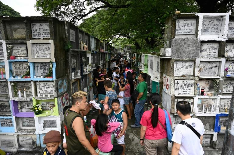 Manila cemeteries to close for day of the dead as virus rages