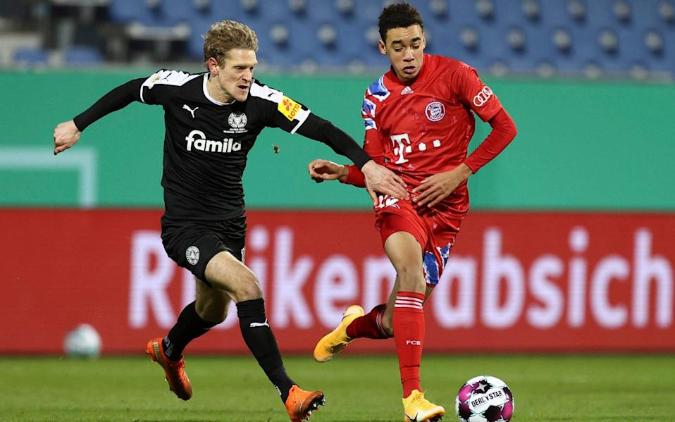 Jamal Musiala - Bayern Munich braced to give starlet Jamal Musiala bumper new deal on 18th birthday - AP