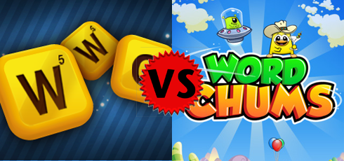 Words WIth Friends vs Word Chums