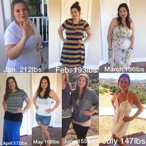 PHOTO: Brittany Williams, 27, lost around 70 pounds in less than one year by cooking her meals at home. (Courtesy Brittany Williams)