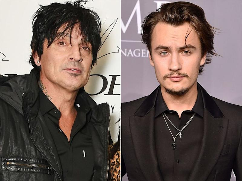 Tommy Lee and his 21-year-old son Brandon