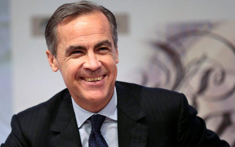Bank of England governor Mark Carney smiles during a news conference at the Bank of England in London, Britain - Suzanne Plunkett/Suzanne Plunkett