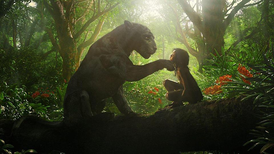 """<p>This is a little confusing because it is a live action/CGI hybrid movie based on the work of Rudyard Kipling, but it's not the Disney <em><a href=""""https://www.amazon.com/Jungle-Book-Theatrical-Bill-Murray/dp/B01E60ZKH2?tag=syn-yahoo-20&ascsubtag=%5Bartid%7C10055.g.23406794%5Bsrc%7Cyahoo-us"""" rel=""""nofollow noopener"""" target=""""_blank"""" data-ylk=""""slk:Jungle Book"""" class=""""link rapid-noclick-resp"""">Jungle Book</a></em> remake. But this one, directed by Andy Serkis, still has plenty of adventures with animals, with motion-capture performances Christian Bale, Cate Blanchett and Benedict Cumberbatch.</p><p><a class=""""link rapid-noclick-resp"""" href=""""https://www.netflix.com/title/80993105"""" rel=""""nofollow noopener"""" target=""""_blank"""" data-ylk=""""slk:STREAM NOW"""">STREAM NOW</a></p>"""