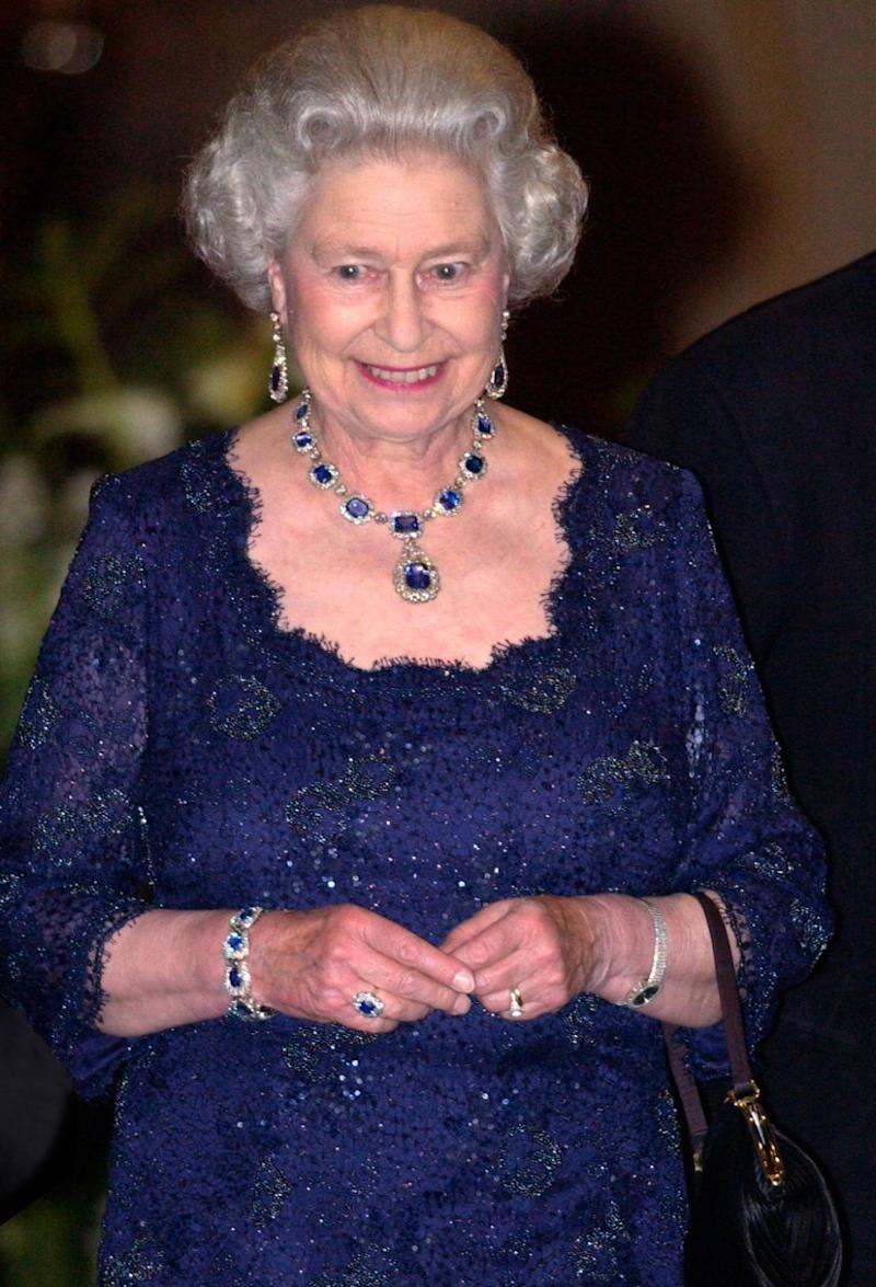 Could Harry propose with the Queen's sapphire cluster ring? Photo: Getty Images