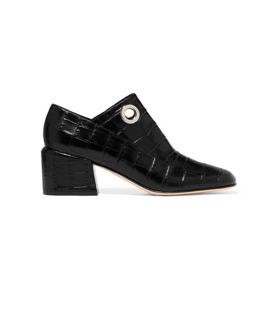 "<p>Marlow Croc-Effect Leather Pumps, $485, <a href=""https://www.net-a-porter.com/us/en/product/714369/tibi/marlow-croc-effect-leather-pumps"" rel=""nofollow noopener"" target=""_blank"" data-ylk=""slk:net-a-porter.com"" class=""link rapid-noclick-resp"">net-a-porter.com</a></p>"
