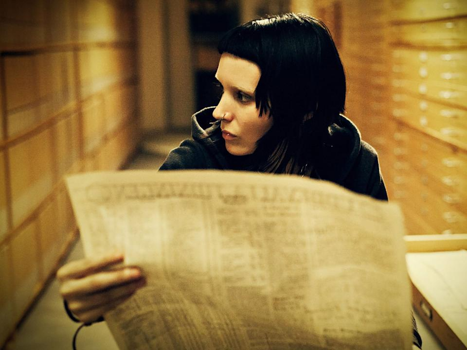 <p>Rooney Mara in 'The Girl with the Dragon Tattoo'</p>Sony