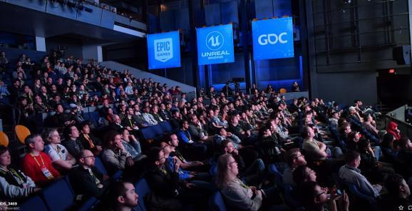The Epic Games event at GDC 2019.
