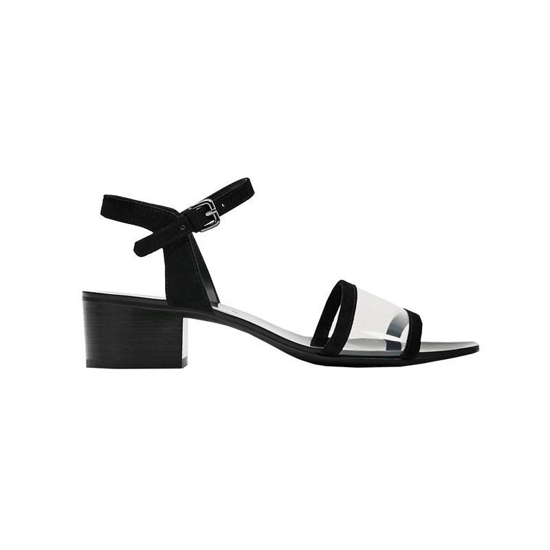 """<p><a href=""""https://www.zara.com/us/en/sale/woman/shoes/view-all/high-heel-sandals-with-ankle-strap-c734178p4144507.html"""" rel=""""nofollow noopener"""" target=""""_blank"""" data-ylk=""""slk:High-Heel Sandals With Ankle Strap,"""" class=""""link rapid-noclick-resp"""">High-Heel Sandals With Ankle Strap,</a> <span><span>$23</span> $16</span></p>"""