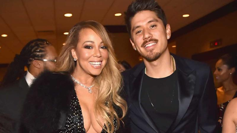 Mariah Carey Steps Out Showing Some Leg for Bryan Tanaka Date Night