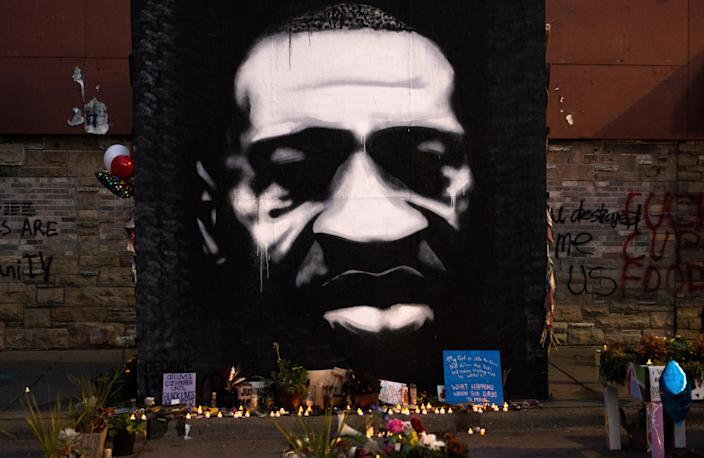 People from across the nation have been visiting George Floyd Square (Getty Images)
