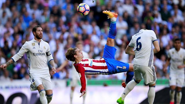 Antoine Griezmann has fuelled speculation about a move to Real Madrid and captain Sergio Ramos seems happy with the rumours.