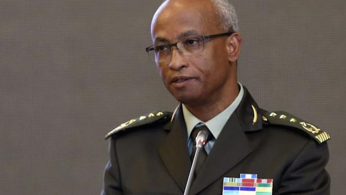 Ethiopia Gen Adem Mohammed pictured in February 2020