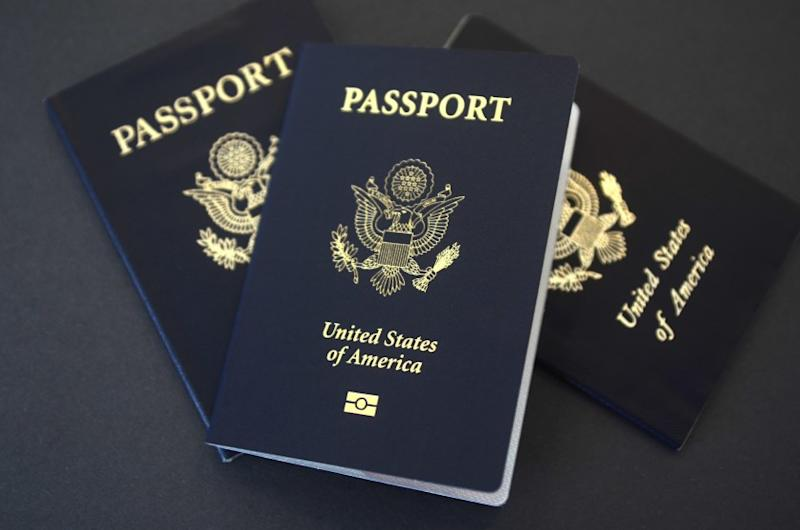 In this May 9, 2017, file photo, U.S. passports lie on a table in Dallas. Starting Jan. 22, 2018, pa