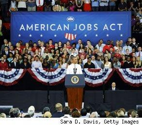 American Jobs Act employment confidence