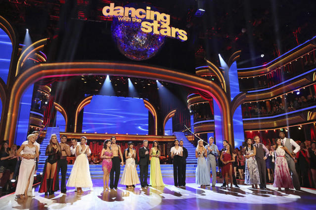 """""""Dancing With the Stars"""" - """"Episode 1604"""" - The competition continued as the 10 remaining celebrities celebrated """"The Best Year of Their Life"""" through dance, MONDAY, APRIL 8 (8:00-10:01 p.m., ET). Each couple danced to a song of the celebrities' choosing that represents a memorable time or experience in their life. In addition, each celebrity was challenged to perform a brief solo during their performance."""