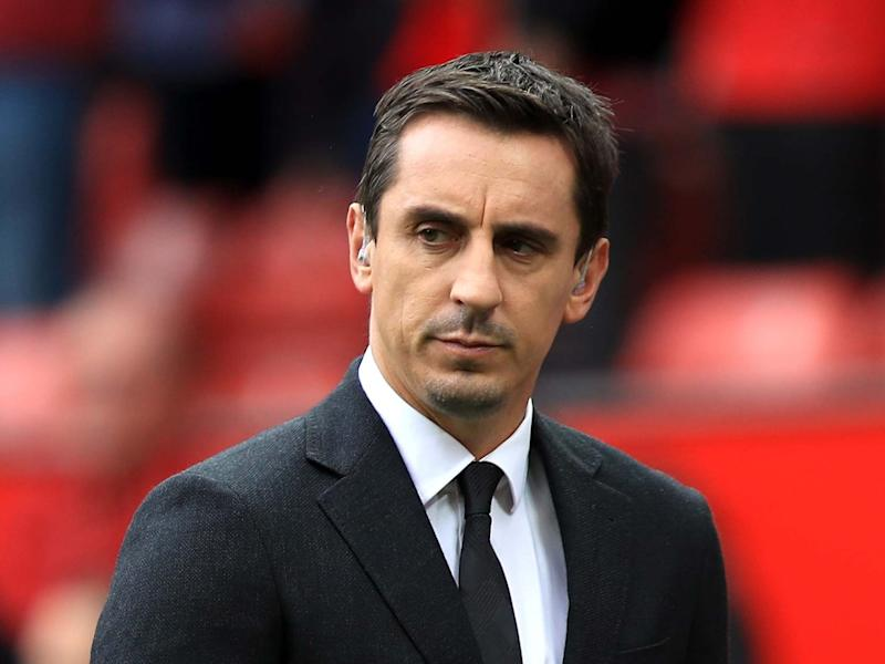Gary Neville hit out at Scunthorpe United chairman Peter Swann for his desire to see player wages suspended: PA
