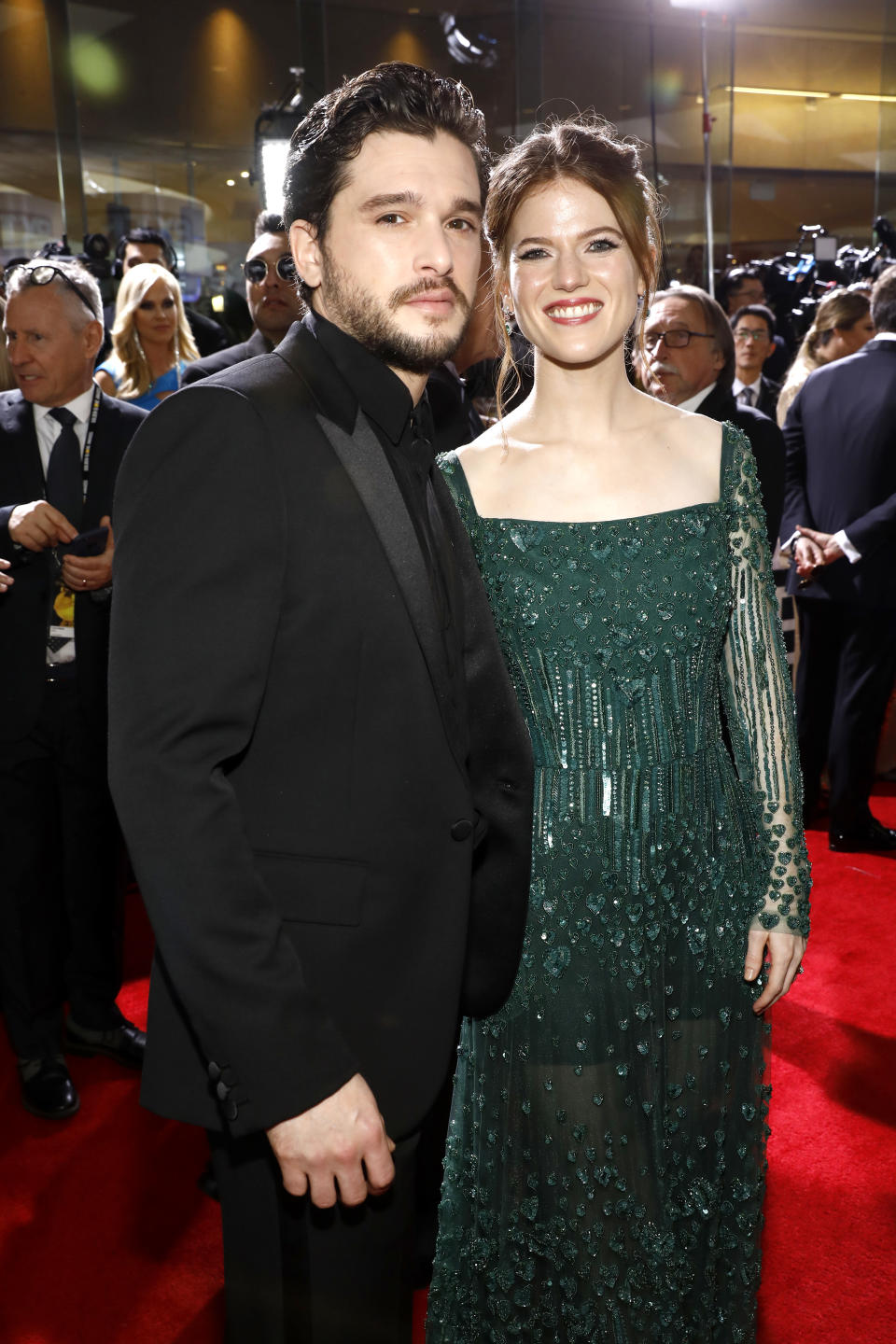 Kit Harington met wife Rose Leslie on 'Game of Thrones'. (Photo by Trae Patton/NBC/NBCU Photo Bank via Getty Images)