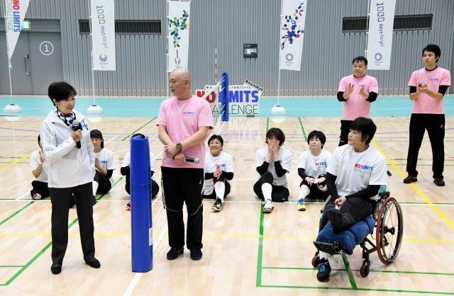 The new facility will host Badminton and Modern Pentathlon Fencing during the 2020 Tokyo Olympic Games and Wheelchair Basketball at the 2020 Paralympics