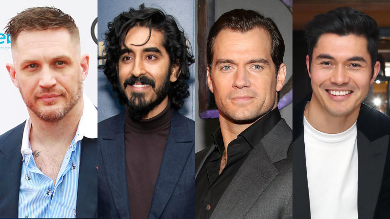 Tom Hardy, Dev Patel, Henry Cavill and Henry Golding could be in the frame to play James Bond. (Credit: Dave Benett/Charles Sykes/Invision/AP/Andreas Rentz/Jerritt Clark/Getty)