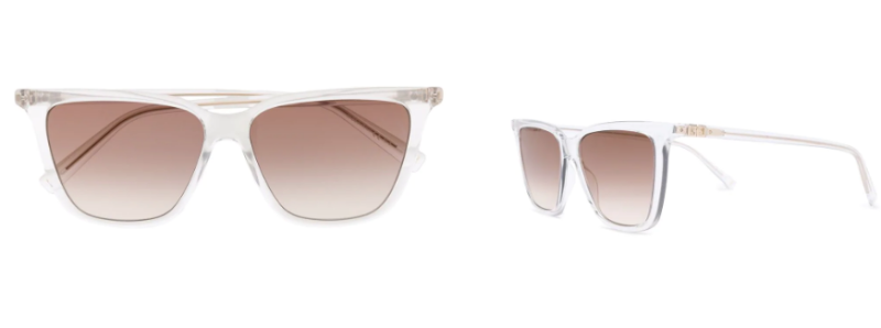 GIVENCHY EYEWEAR transparent square-frame sunglasses