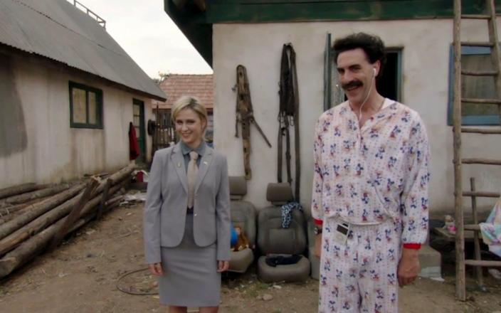 Borat is a fictional journalist from Kazakhstan - Universal News And Sport