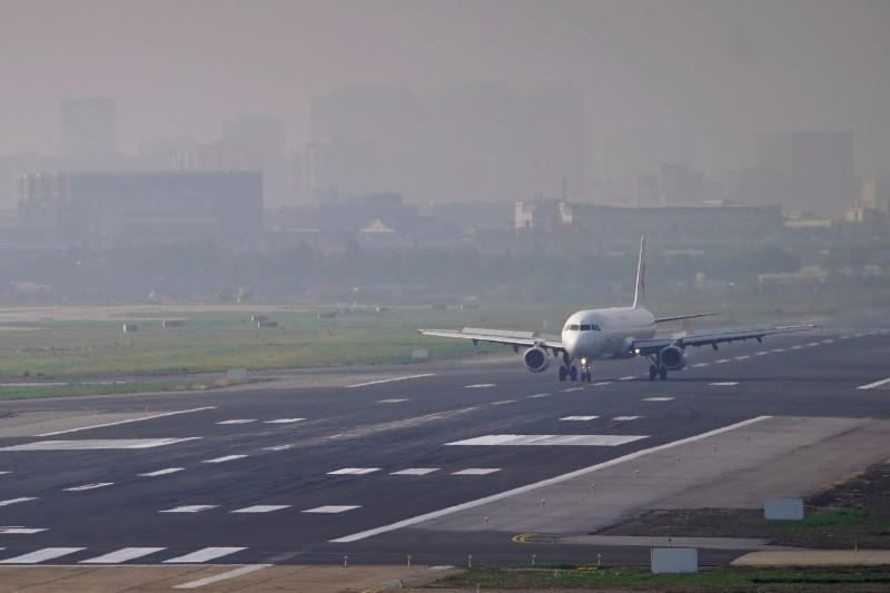 A China Eastern Airlines aircraft is seen at Hongqiao International Airport in Shanghai