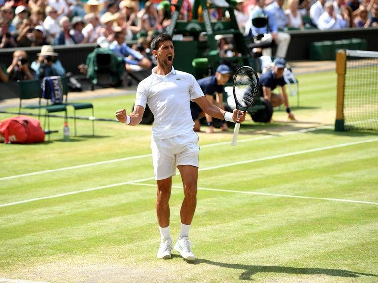 """Novak Djokovic has warned Roger Federer that he is coming for his records ahead of their Wimbledon final on Sunday.Djokovic, the reigning champion and world number one, has eased through to his sixth SW19 showpiece and victory over eight-time winner Federer would give him his 16th grand-slam title. That would take him to just four behind the Swiss and at five years his junior, few would back against him going well past Federer's total.Another record in his sight is the most weeks at world number one, another milestone Federer holds with 310. The Serbian is currently on 260, but if he continues to dominate the men's game he could have surpassed that by this time next year. And the 32-year-old admits he is """"looking to make history"""".""""I don't see this as my job or as my work,"""" he said. """"I've done enough in my career so I can, you know, stop tennis, professional tennis, at any time. But I don't do it for those reasons. My first reason is because I really enjoy it. I still do. I have support from my family. Of course, I am looking to make history in this sport.""""Of course, I would love to have a shot at as many grand-slam titles as possible. Those are probably the top goals and ambitions. Next to that is the historic number one, which is not so far away.""""This will be the fourth time Djokovic and Federer have met in a grand-slam final and the 48th they have gone head-to-head. Federer, who had to beat his greatest rival Rafael Nadal in the semi-final to reach what is his 12th showpiece, knows there are not many secrets in each other's game.""""It's the same like going into a Rafa match,"""" he said. """"I think the moment you've played somebody probably more than 15 times, especially in recent years also a few times, there's not that much more left out there.""""I'm excited about the game against Novak. We've played each other so, so much. I don't mind that, I think it's more of a clear game plan. Especially we had a great match against each other in Paris just recently. I hope we can b"""