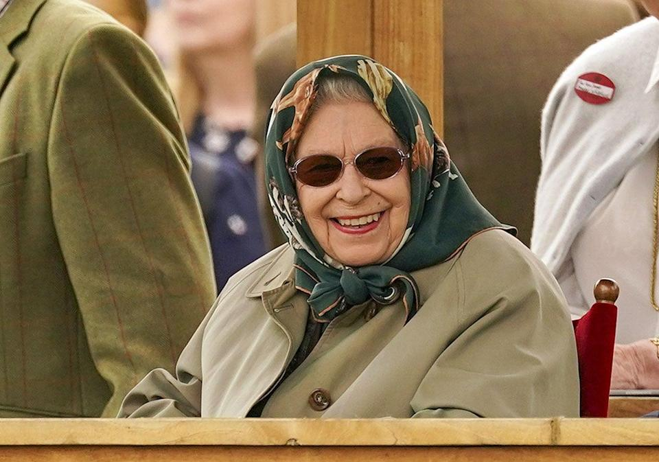 The Queen at the Royal Windsor Horse Show (PA Wire)