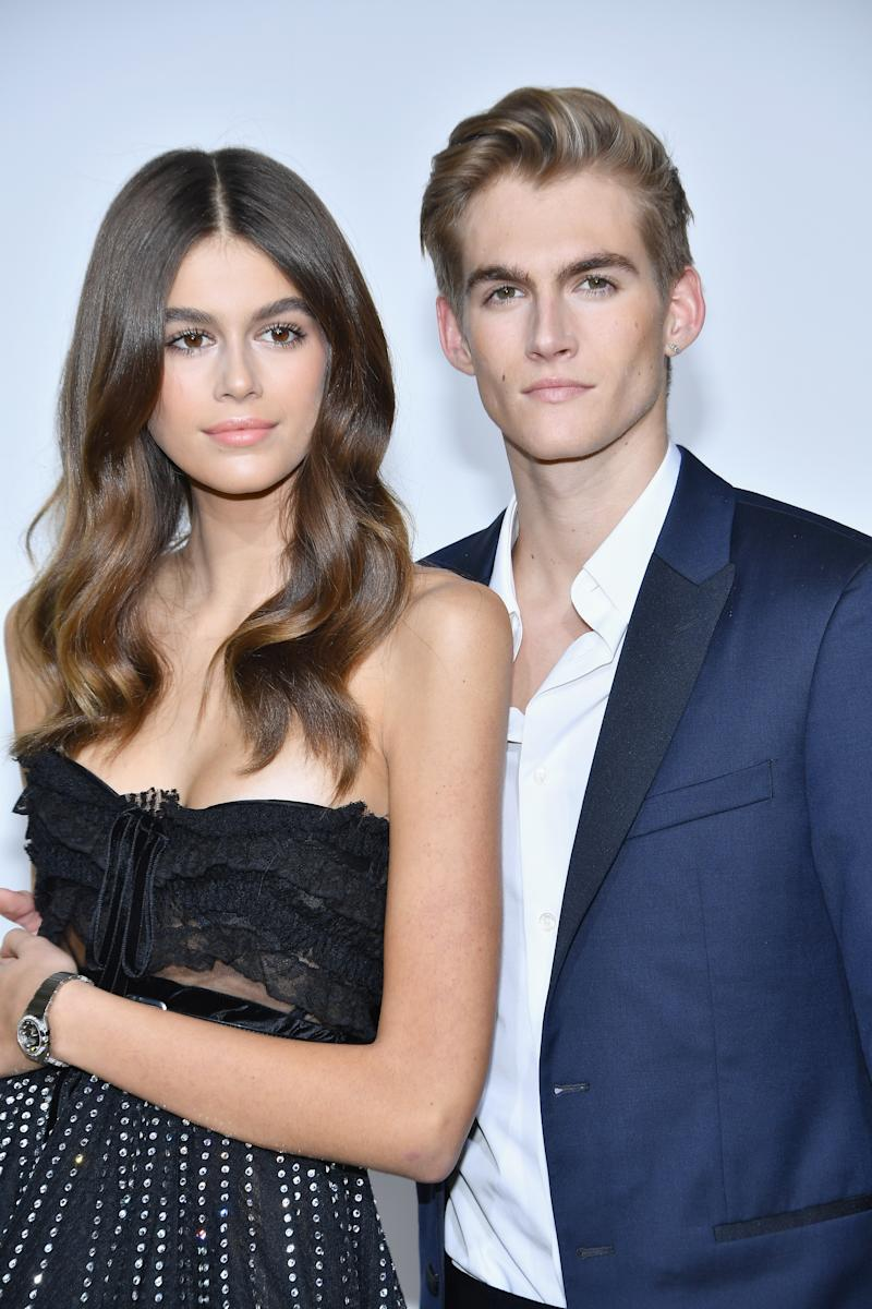825fa7113 Kaia Gerber's brother got her name tattooed on his body — is that weird or  what?