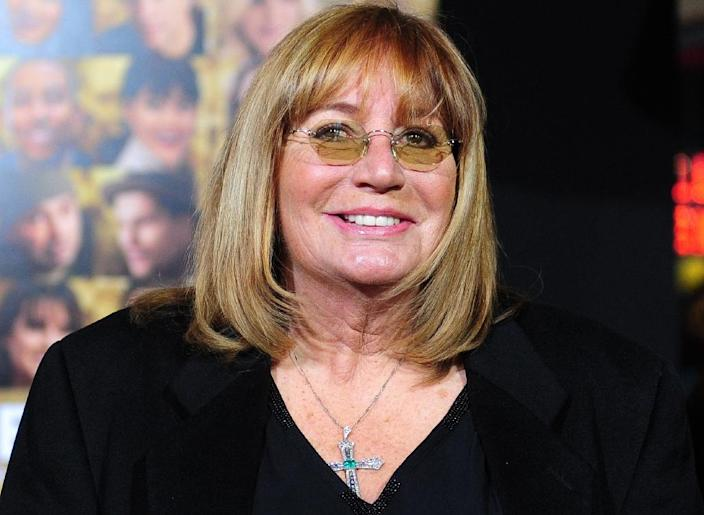 """Penny Marshall, pictured in 2011, directed """"Big"""" (1988), which became the first film directed by a woman to gross more than $100 million at the domestic box office (AFP Photo/Frederic J. BROWN)"""