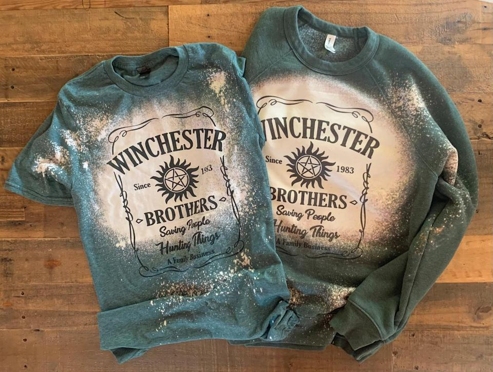 <p>If they consider themselves an honorary member of the Winchester family, get them this stylish <span><strong>Supernatural</strong> Winchester Shirt/Sweatshirt</span> ($24-$47). It comes in a T-shirt or a sweatshirt. </p>