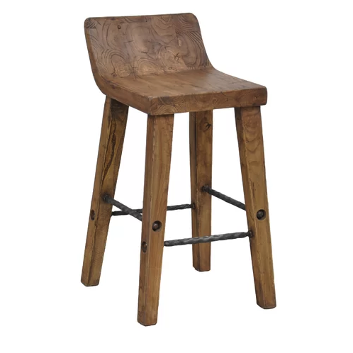 "Can't you picture this chunky wood stool in <em>The Flintstones</em>? <a rel=""nofollow"" href=""https://www.wayfair.com/furniture/pdp/trent-austin-design-feinberg-bar-counter-stool-tadn7232.html?piid=33033455&ds=156800"" rel=""nofollow"">SHOP NOW</a>: Feinberg Bar & Counter Stool by Trent Austin Design, $175 $456"