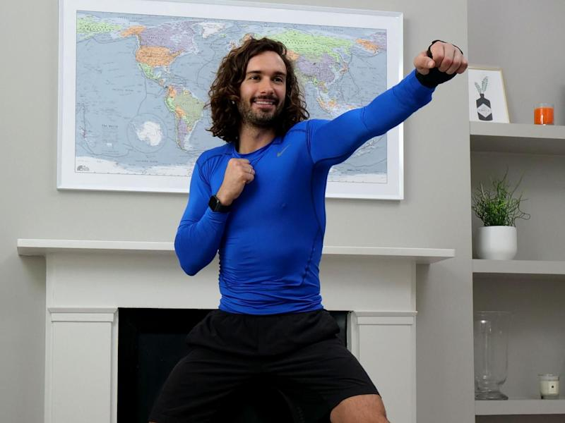Joe Wicks keeps the nation fit during lockdown: The Body Coach/Getty